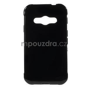 Lesklý gelový kryt na Samsung Galaxy Xcover 3 - černý - 1