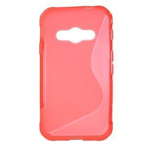 S-line gelový obal na Samsung Galaxy Xcover 3 - červený - 1