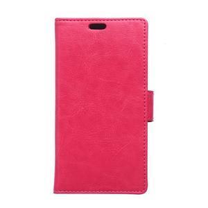 Rose koženkové pouzdro Samsung Galaxy Xcover 3 - 1