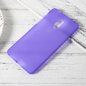 Matný gelový obal na mobil Nokia 6 - fialový - 1