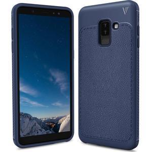 IVS odolný gelový obal na Samsung Galaxy A6+ (2018) - tmavě modrý - 1