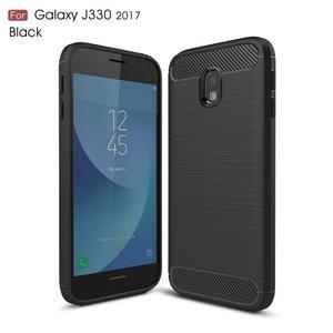 Carbo odolný obal na mobil Samsung Galaxy J3 (2017) - černý - 1