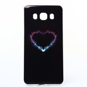 Funy gelový obal na Samsung Galaxy J5 (2016) - srdce - 1