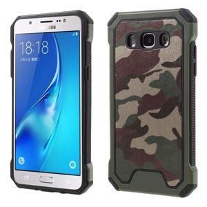 Army outdoor odolný obal na mobil Samsung Galaxy J5 (2016) - tmavězelený - 1 99ec8142cc8