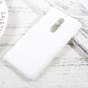 Pogumovaný plastový obal na mobil Nokia 5 - bílý - 1