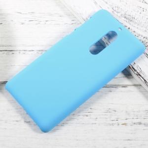Pogumovaný plastový obal na mobil Nokia 5 - světlemodrý - 1