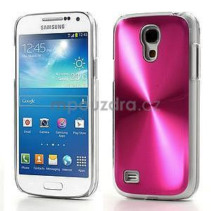 Metalický obal na Samsung Galaxy S4 mini - rose - 1
