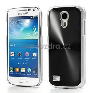 Metalický obal na Samsung Galaxy S4 mini - černý - 1
