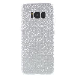 Mosaic plastový obal se vzorkem na Samsung Galaxy S8 Plus - stříbrný - 1