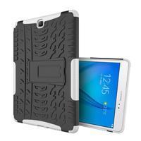 Outdoor odolný obal se stojánkem na tablet Samsung Galaxy Tab A 9.7 - bílý - 1/4