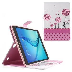 Ochranné pouzdro na Samsung Galaxy Tab A 9.7 - dívka a pampelišky - 1