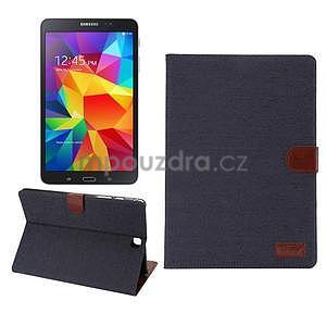 Jeans pouzdro na tablet Samsung Galaxy Tab A 9.7 - černomodré - 1