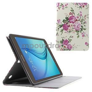 Stines pouzdro pro Samsung Galaxy Tab A 9.7 - kytice - 1