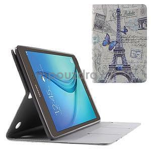 Stines pouzdro pro Samsung Galaxy Tab A 9.7 - Eiffelova věž - 1