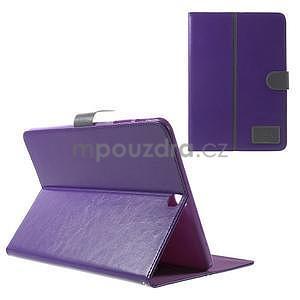 Flatense stylové pouzdro pro Samsung Galaxy Tab S2 9.7 - fialové - 1