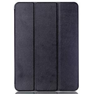 Trifold polohovatelné pouzdro na Samsung Galaxy Tab S2 9.7 - černé - 1