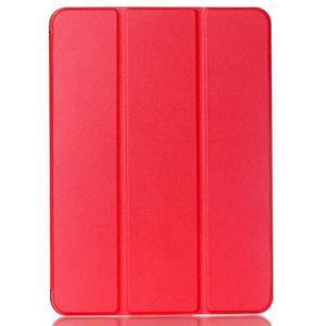 Trifold polohovatelné pouzdro na Samsung Galaxy Tab S2 9.7 - červené - 1