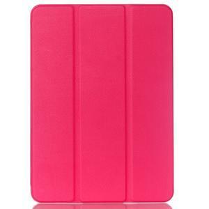 Trifold polohovatelné pouzdro na Samsung Galaxy Tab S2 9.7 - rose - 1
