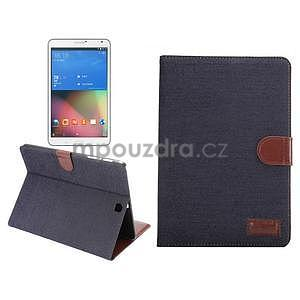Jeans pouzdro na tablet Samsung Galaxy Tab S2 9.7 - černomodré - 1