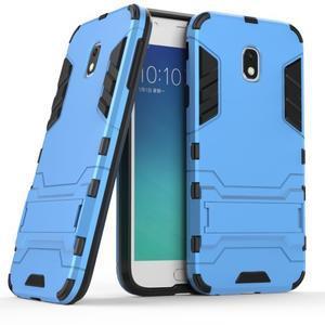 Defender odolný obal na mobil Samsung Galaxy J3 (2017) - světlemodrý - 1