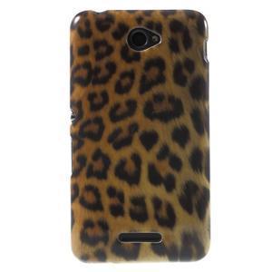 Gelový obal Sony Xperia E4 - gepard - 1