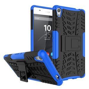 Outdoor odolný obal na mobil Sony Xperia XA Ultra - modrý - Mpouzdra.cz f3510a750da