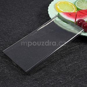 Ultratenký gelový obal na Sony Xperia XZ Premium - šedý - 1