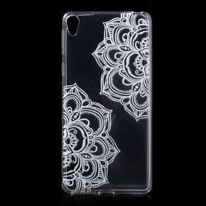 Ultratenký gelový obal na Sony Xperia E5 - mandala - 1