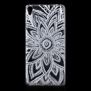 Ultratenký gelový obal na Sony Xperia E5 - henna - 1