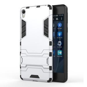Outdoor odolný obal na mobil Sony Xperia E5 - stříbrný - 1