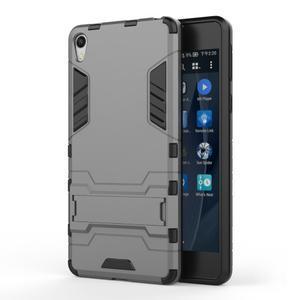 Outdoor odolný obal na mobil Sony Xperia E5 - šedý - 1