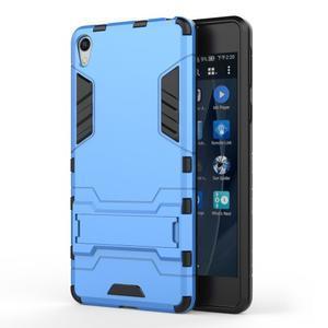 Outdoor odolný obal na mobil Sony Xperia E5 - světlemodrý - 1