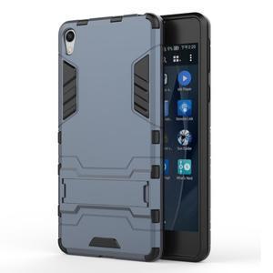 Outdoor odolný obal na mobil Sony Xperia E5 - šedomodrý - 1