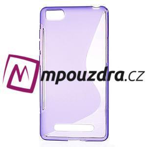 S-line gelový obal na mobil Xiaomi Mi4c/Mi4i - fialový - 1