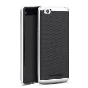 Paky odolný obal na mobil Xiaomi Mi4c - stříbrný - 1
