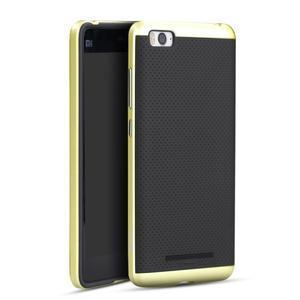 Paky odolný obal na mobil Xiaomi Mi4c - zlatý - 1