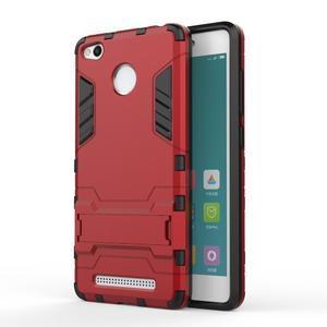 Outdoor odolný obal na Xiaomi Redmi 3 Pro - červený - 1