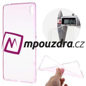 Ultratenký gelový obal na mobil Sony Xperia XA Ultra - rose - 1