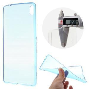 Ultratenký gelový obal na mobil Sony Xperia XA Ultra - modrý - 1