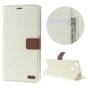 Diary peněženkové pouzdro na mobil Asus Zenfone 3 Ultra - bílé - 1