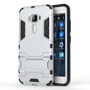 Odolný obal na mobil Asus Zenfone 3 ZE520KL - stříbrný - 1