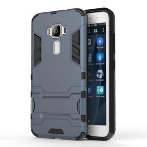 Odolný obal na mobil Asus Zenfone 3 ZE520KL - šedomodrý - 1