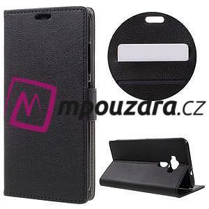 Leathy peněženkové pouzdro na Asus Zenfone 3 ZE520KL - černé - 1