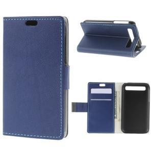 Peněženkové pouzdro na mobil BlackBerry Classic - modré - 1