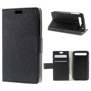 Peněženkové pouzdro na mobil BlackBerry Classic - černé - 1