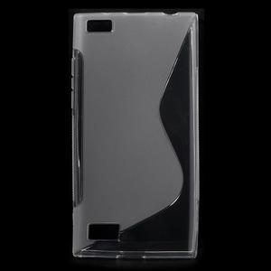 S-line gelový obal na mobil BlackBerry Leap - transparentní - 1