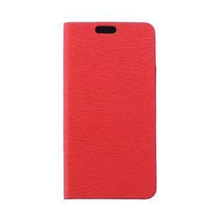 Peněženkové pouzdro na mobil Honor 4C - červené - 1