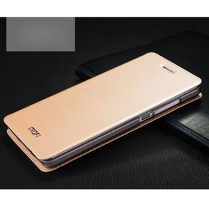 Vintage stylové pouzdro na mobil Honor 4C - zlaté - 1