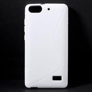 S-line gelový obal na mobil Honor 4C - bílý - 1