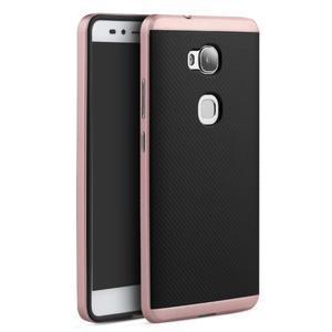 Odolný kryt na mobil Honor 5X - rose gold - 1